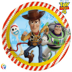 TOY STORY 4 PAPER PLATES LARGE 23cm (8CT X 6 PACKS)