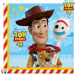 TOY STORY 4 NAPKINS 2-PLY 33cm (20CT X 6 PACKS)
