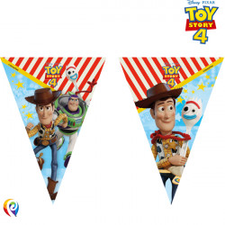 TOY STORY 4 TRIANGLE FLAG BANNER (1CT X 6 PACKS)