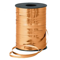 COPPER 5MM METALLIC RIBBON 500M
