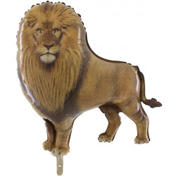 REALISTIC LION GRABO SHAPE FLAT