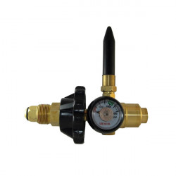 FLEX TILT VALVE WITH GAUGE SCREW FITTING (BOC)