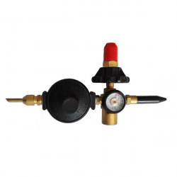 BASIC FLEX TILT VALVE WITH GAUGE SCREW FITTING (BOC)