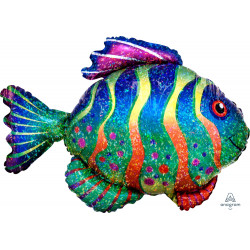 COLOURFUL FISH SHAPE P40 PKT