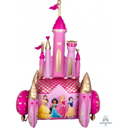 "DISNEY PRINCESS ONCE UPON A TIME CASTLE AIRWALKER P93 PKT (35"" x 55"")"