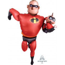 INCREDIBLES 2 MR INCREDIBLE AIRWALKER P93 PKT