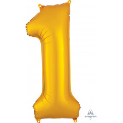 "GOLD NUMBER 1 SHAPE P50 PKT (13"" x 34"")"