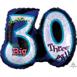 OH NO! IT'S MY BIRTHDAY 30 SHAPE P35 PKT