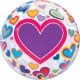 "BIG HEARTS M(HEART)M DAY 22"" SINGLE BUBBLE YRV"