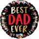 """BEST DAD EVER 18"""" PKT"""