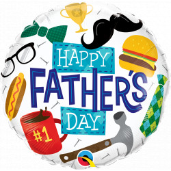 """EVERYTHING FATHER'S DAY 18"""" PKT IF"""