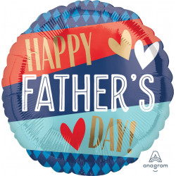 STRIPES & ARGYLE HAPPY FATHER'S DAY STANDARD S40 PKT