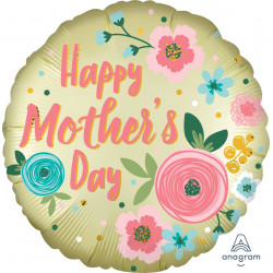 PASTEL YELLOW SATIN INFUSED MOTHER'S DAY STANDARD S40 PKT