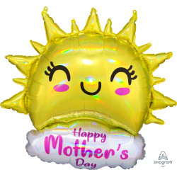 "HAPPY SUN HAPPY MOTHER'S DAY SHAPE P40 PKT (25"" x 35"")"