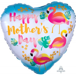 FLAMINGOS HAPPY MOTHER'S DAY STANDARD S40 PKT