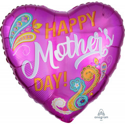 PAISLEY HAPPY MOTHER'S DAY STANDARD S40 PKT