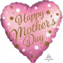 "HAPPY MOTHER'S DAY SATIN JUMBO P32 PKT (28"" x 28"")"