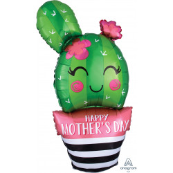 "CATUS HAPPY MOTHER'S DAY SHAPE P30 PKT (18"" x 35"")"