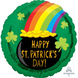 POT OF GOLD ST PATRICK'S STANDARD S40 PKT