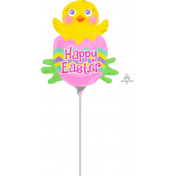 SPRING CHICK EASTER MINI SHAPE A30 FLAT