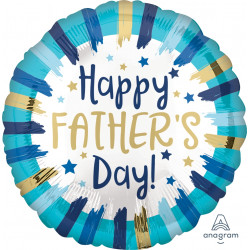 PAINTED STRIPES HAPPY FATHER'S DAY STANDARD S40 PKT