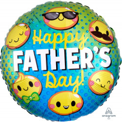 EMOTICONS FATHER'S DAY STANDARD S40 PKT