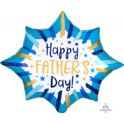 "PAINTED STRIPES FATHER'S DAY SHAPE P35 PKT (35"" x 29"")"