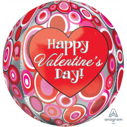 HAPPY VALENTINE'S DAY CIRCLES ORBZ G20 PKT