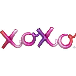"""XOXO OMBRE SCRIPT PHRASE SHAPE G40 PKT (39"""" x 11"""")"""