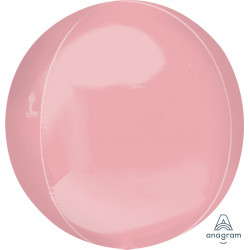"PASTEL PINK ORBZ JUMBO P55 FLAT (21"" x 21"") (3CT)"