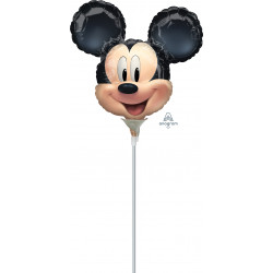 MICKEY MOUSE FOREVER MINI SHAPE A30 INFLATE WITH CUP & STICK