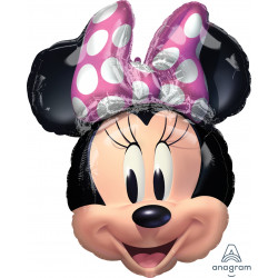 "MINNIE MOUSE FOREVER SHAPE P38 PKT (21"" x 26"")"