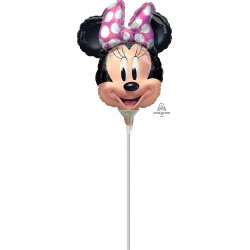 MINNIE MOUSE FOREVER MINI SHAPE A30 INFLATED WITH CUP & STICK