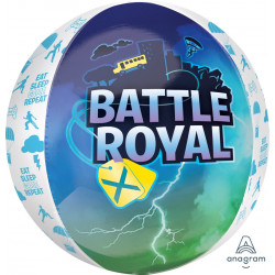 "BATTLE ROYAL ORBZ G20 PKT (15"" x 16"")"