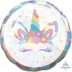 UNICORN IRIDESCENT PARTY STANDARD S55 PKT