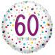 CONFETTI 60 BIRTHDAY STANDARD S40 PKT