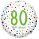 CONFETTI 80 BIRTHDAY STANDARD S40 PKT