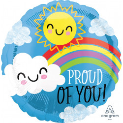 SUNSHINE & RAINBOW PROUD OF YOU STANDARD S40 PKT