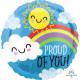 SUNSHINE & RAINBOW PROUD OF YOU STANDARD S40 PKT