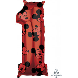 """MICKEY MOUSE FOREVER 1 SHAPE L26 PKT (11"""" x 26"""")"""