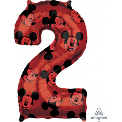 "MICKEY MOUSE FOREVER 2 SHAPE L26 PKT (17"" x 26"")"