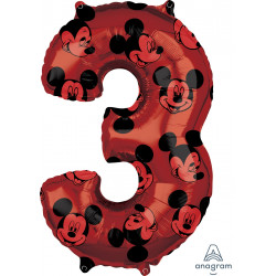"""MICKEY MOUSE FOREVER 3 SHAPE L26 PKT (17"""" x 26"""")"""