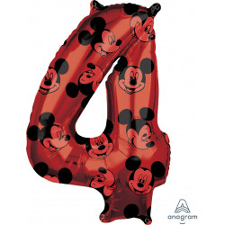"MICKEY MOUSE FOREVER 4 SHAPE L26 PKT (18"" x 26"")"