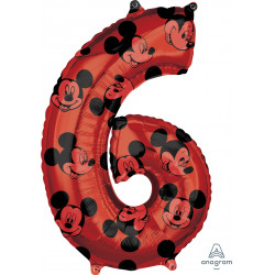 """MICKEY MOUSE FOREVER 6 SHAPE L26 PKT (17"""" x 26"""")"""