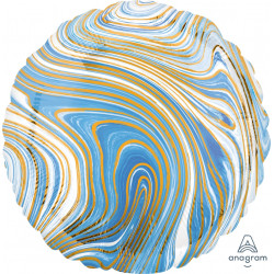 BLUE MARBLEZ CIRCLE STANDARD S18 FLAT A