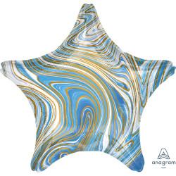 BLUE MARBLEZ STAR STANDARD S18 FLAT A