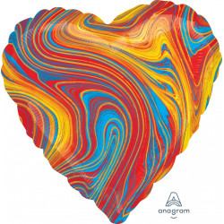 COLOURFUL MARBLEZ HEART STANDARD S18 FLAT A