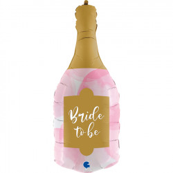 "BOTTLE BRIDE TO BE 36"" SHAPE C PKT"