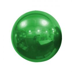 "GREEN 40cm/16"" MIRROR GLOBE FOIL BALLOON"