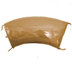"GOLD GLITTER ARCH PANEL (40"" x 17"")"